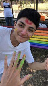 Panchina Rainbow LGBTQI+